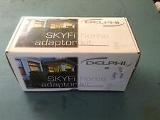 New opened DELPHI SKYFI  HOME DOCKING ADAPTOR  KIT SA10004  RCA, stand, ant, 6v