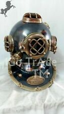 Antique Us Navy Scuba Diving Divers Helmet Boston Vintage Morse Gift Helmet Gift