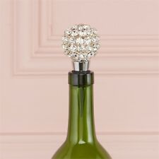 Twos Co Multifaceted Crystal Bottle Stopper in a Gift Box