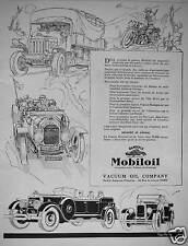 PUBLICITÉ MOBILOIL VACUUM OIL COMPANY SOCIETE ANONYME FRANCAISE