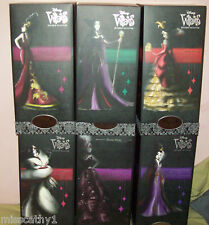 Disney Villains Designer  Collection 6 pc.Doll Set  .LIMITED EDITION