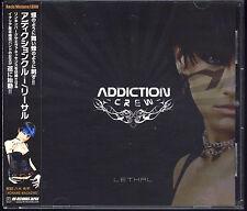 ADDICTION CREW-Lethal 13tracks Japan CD w/OBI