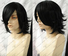 Death Note L Short Cosplay Black Wigs