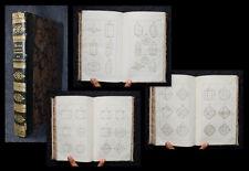 1834 minéralogie minerology crystallography Elements de cristallographie rose