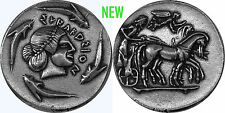 "Poseidon, God of the Sea, ""Earth Shaker"" coin, (#82-S) 27 mm, 10 g,"