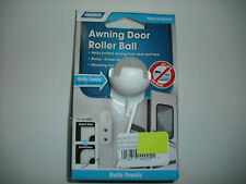 RV - Awning Door Roller Ball - EZ Install on Exterior Door - Rolls Across Fabric