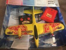 Vtg TYCO SKY SCORCHER Mattel REMOTE CONTROL RC Foam Aeroplane SELLING AS PARTS