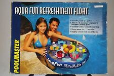 NEW Inflatable Pool Water Drink Holder - Aqua Fun Refreshments Float for Drinks
