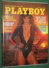 Playboy March 1977 POM Nicki Thomas Susan Kiger Henry Miller Sen. Pat Moynihan