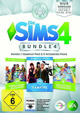 Die Sims 4: Bundle Pack 4 (Download Code) (PC/Mac, 2017, DVD-Box)