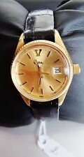 B VETTA VINTAGE MANUAL WINDING SWISS MADE GOLD WATCH MONTRE OR REMONTAGE MANUEL