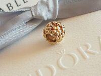 Authentic Pandora 14k Gold 'Flower Power' Daisy Charm Bead - 750297
