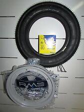 VESPA 50 PK AUTOM. 1988 KIT WHEEL 3 00 10 TIRE MICHELIN S83 AIR CHAMBER RIM