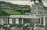 Ansichtskarte Lauf Baden Gasthaus zum Hirsch (Nr.9641)