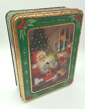 Oreo Cookie Christmas Tin 'My Best Christmas Ever' Collectible Tin