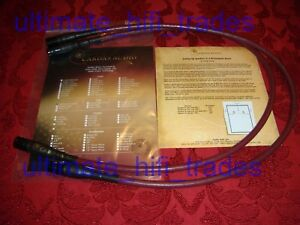 Cardas Golden Cross 2x1m XLR interconnects