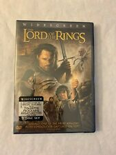 The Lord of the Rings: The Return of the King Dvd, 2004, 2-Disc Set New Sealed