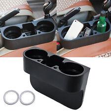 Car Seat Seam Wedge Cup Holder Drink Bottle Phone Mount Stand Storage Organizer
