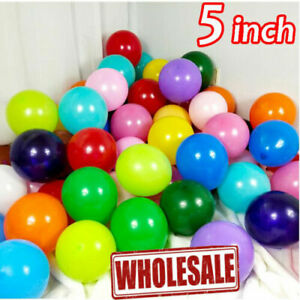 """5""""inch Small Round Best Latex Balloons 100 Quality Standard ballon Colour baloon"""