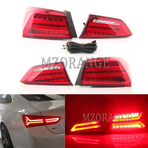 Set LED  Tail Light Rear Lamp Brake Stop For Chevrolet Malibu XL 2016 2017 2018