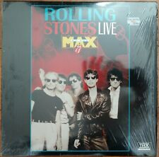 ROLLING STONES Laserdisc THX Live Concert at the MAX LD in shrink