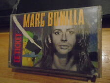 SEALED RARE Marc Bonilla CASSETTE TAPE EE Ticket KEITH EMERSON Ronnie Montrose