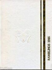 Green Mountain High School Colorado ORIGINAL 1985 yearbook annual history