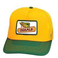 DEKALB SEED *BLAZE ORANGE /& REALTREE CAMO* Logo CAP HAT *BRAND NEW* DS59
