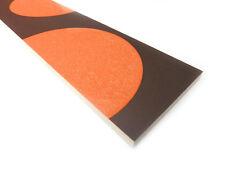 Fliesenbordüren 40x8,5 cm Fliesenbordüre Bad Bordüre Arcano Melon braun orange