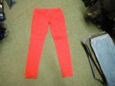 "Next Slim Leg Jeans Size 14 Leg 34"" Faded Red Ladies Jeans"