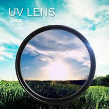 58mm UV Ultraviolet Camera Lens Filter Protection For ALL DSLR / SLR / DC / DV