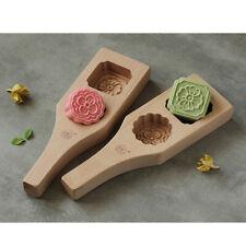 Flower Patterns Mooncake Mold Springerle Cake Cookie Pastry DIY Pastry Tool