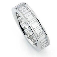 Baguette Band VVS1 Fine Diamond Rings