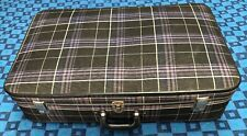 Belle ancienne valise rétro vintage H 18 L 71 l 44 cm #26