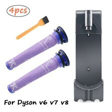 Replacement Docking Station Wall Mounted Hepa Filter for Dyson V7 V8 Vacuum Part