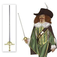 Mittelalter Musketier Degen Waffe Fuchtel Kostüm Zubehör Schwert