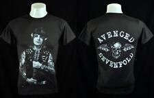 Synyster Gates Rock Punk Dark Grey Tee T-Shirt Size L