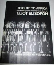 MUSEUM OF AFRICAN ART WASHINGTON 1974 ELIOT ELISOFON COLLECTION