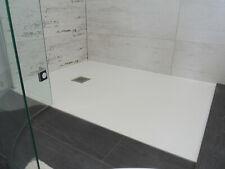 Duschwanne Duschtasse Dusche flach mit Ablauf Duschbecken 3cm hoch Mineralguss