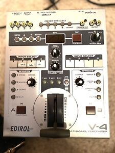Edirol V4 Analog Video Mixer - Ships from USA
