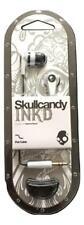 New Skullcandy Ink'd 2.0 Earphones In Ear Black/White S2IKFZ-074