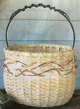Basket Weaving Pattern Spring Whimsy by Maureen Joy
