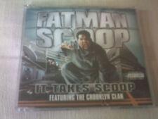 FATMAN SCOOP - IT TAKES SCOOP - 3 TRACK R&B CD SINGLE