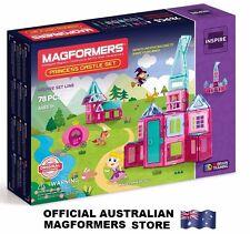Genuine MAGFORMERS Princess Castle Set 78 pcs - 3D Magnetic construction