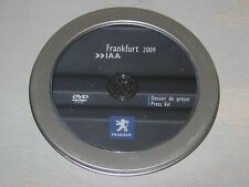 Dossier de presse DVD ROM PEUGEOT Frankfurt 2009 IAA