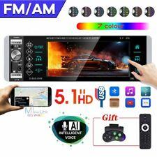"5.1"" 1 DIN Autoradio Mit Bluetooth Touchscreen Player 4USB TF AUX-IN FM RDS MP5"