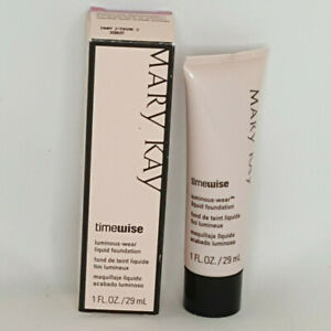 Mary Kay Timewise Luminous Wear Liquid Foundation Ivory 2 NOS 038697