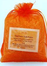 Aromatherapy Detox Dead Sea Bath Salts May Chang Tea Tree Juniper 200g