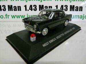 SIM1 voiture UNIVERSAL HOBBIES NOSTALGIE 1/43 : SIMCA Vedette Versaille 1956