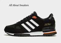 "Adidas ZX 750 ""Black-Orange"" Men's Trainers All Sizes Limited Stock"
